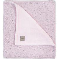 Jollein Deken 75x100cm Confetti Knit Teddy - Vintage Pink