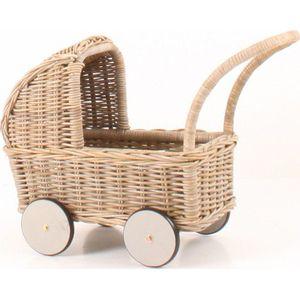 Holland Poppenwagen-  Grijs