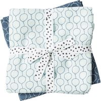 Done By Deer Omslagdoek 2 St. Balloon - Blauw
