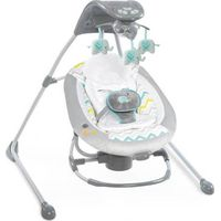 Bright Starts InLighten Cradling Swing & Rocker 2-in-1 - Avondale