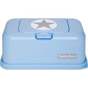 Funkybox Babyblauw Zilver Ster