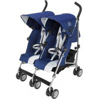 Maclaren Buggy Twin Triumph - Medieval Blue / Silver