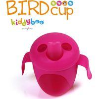 KiddyBoo Bird Cup Antilekbeker - Fuchsia
