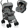 Baninni Buggy Messina Night Edition (Incl. Autostoel) - Grijs