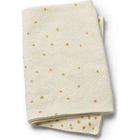 Deken Moss Gebreid Gold Shimmer - Elodie Details