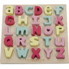 Little Dutch Puzzel Hout Letters - Roze