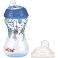 Drinkbeker Click It Blauw - Nuby