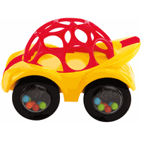 Oball Auto Rattle & Roll - Rood
