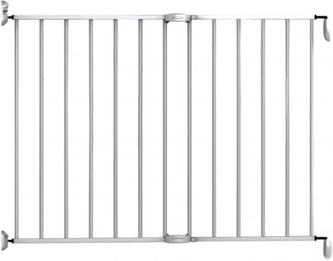Noma Metaal Extending Traphek/Veiligheidshek - Zilver