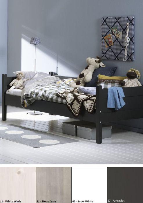 Alta Bedbank open 90 x 200 cm White Wash