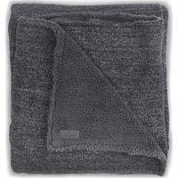 Jollein Deken 75x100cm Natural Knit Teddy - Anthracite