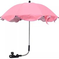 Parasol - Roze (UL) Let op: de onderdelen die op de foto zwart zijn, zijn in werkelijkheid wit