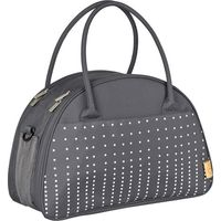 Lässig Verzorgingstas Casual Shoulder Bag Dotted Lines - Ebony (UL)