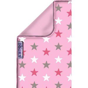 Dooky Blanket 70x85cm - Baby Pink/Pink Stars