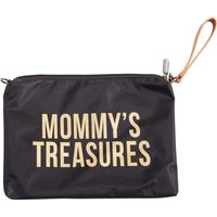 Childhome Mommy Clutch Bag - Black Gold