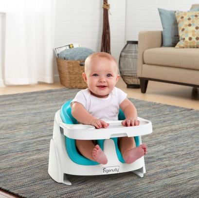 Kinderstoel Voor Op Reis.Ingenuity Baby Base 2 In 1 Kinderstoel Stoelverhoger Pink Bij