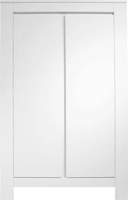 Bopita 2-deurskast Bianco wit