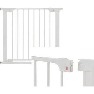 Babydan Klem Deurhekje Easy Close Gate - Wit