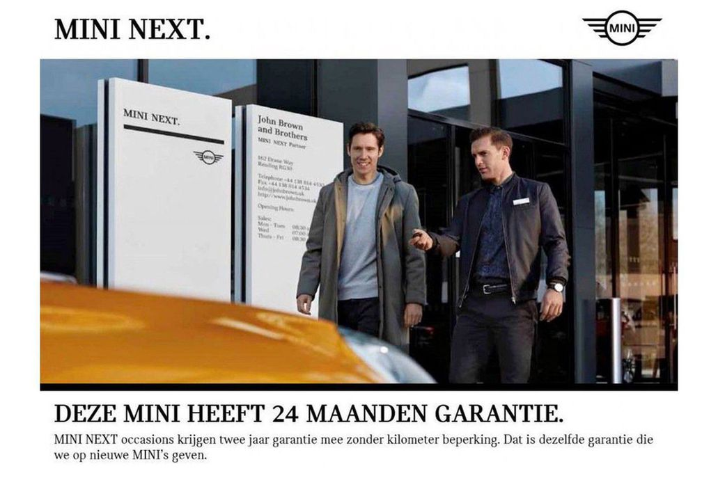MINI Cooper S 3-deurs Pepper Aut.