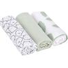 Lässig Swaddle & Burp Blanket L - Little Spookies Olive