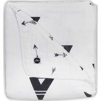 Jollein Deken 120x120cm Hydrofiel - Indians Black&White