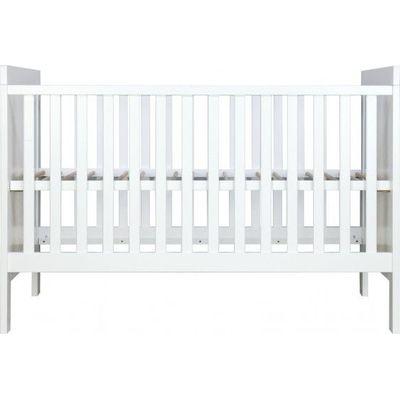 Bopita Combi-Bed 70x140 cm White - Basic Wood BabyFlex