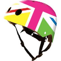 Kiddimoto Helm Union Jack Rainbow S
