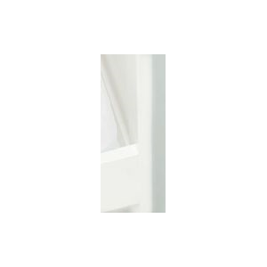 Hoeslaken Ledikant Jersey 120x200 - Wit