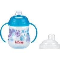 Nuby Flip-It Antilekbeker Met Handvatten En Rietje - Blauw