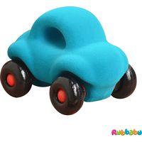 Rubbabu The Little Wholedout Car - Turquoise