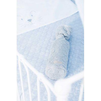 Jollein Deken 100x150cm Fancy Knit - Baby Blue