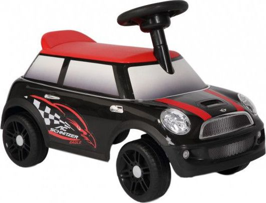 Loopauto Mini Cooper Black - Kees by Happy Baby