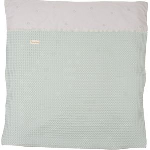 Koeka Dekbedovertrek Reiswieg Love Me Sweet - Misty Mint