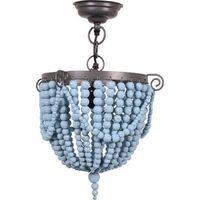 Bead Hanglamp Kraal - Blauw