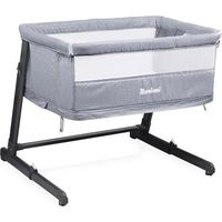 Baninni 2in1 Bed Side Crib Leya - Grey
