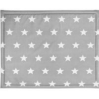 Jollein Boxdek 75x95cm - Little Star Dark Grey