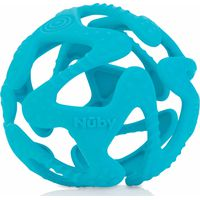 Nuby Flexibele Silicone Teething Ball - Aqua