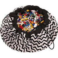Speelgoedzak Play&Go Zigzag Black