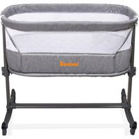 Baninni Bed Side Crib Nesso - Dark Grey