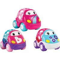 Go Grippers Pink Car 3-Pack - Oball