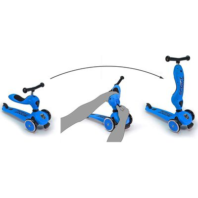 Scoot and Ride Step/Loopfiets - Blue