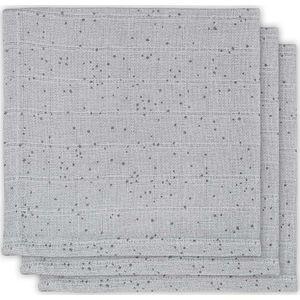 Jollein Hydrofiel Monddoekje - Mini Dots Mist Grey