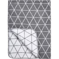 Ledikantdeken Triangle Grijs 120x150cm - Meyco