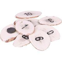Stapelgoed Set Magneetjes nr. 1 t/m 10