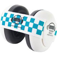 Em's 4 Bubs White Gehoorbeschermers Blue/White