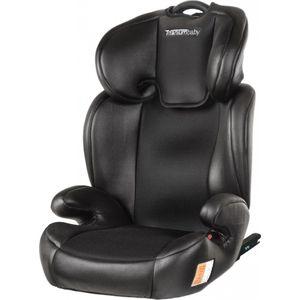 Titaniumbaby Booster Seat Luxe Groep 2-3 Isofix - Black
