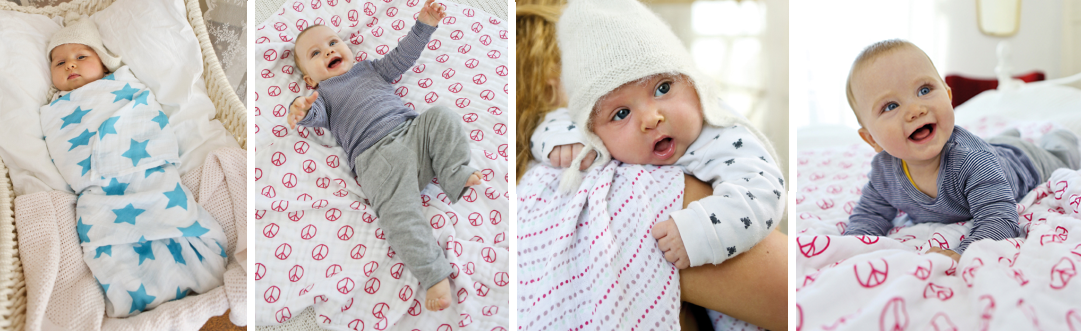 Swaddle & Burp Blankets