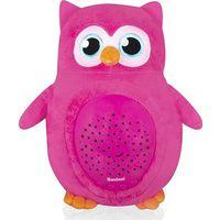 Baninni Projector Lamp Owl - Pink