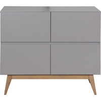 Quax Commode 4 Laden Trendy - Griffin Grijs