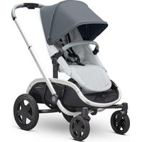 Quinny Hubb Kinderwagen Mono - Graphite On Grey